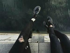 black, clean, fashion, grunge, sad, tumblr, white - image ...