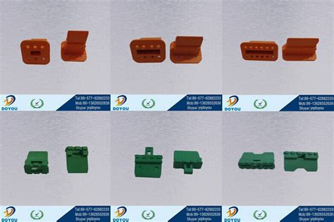 Dt04-12p Male 12 Pin Auto Connector For Car