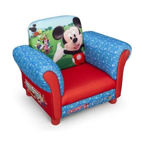 delta children mickey fauteuil chesterfield enfant