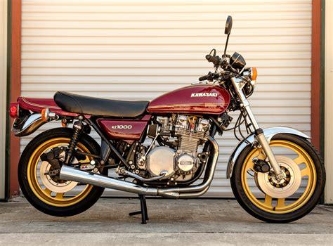 Kz Kawasaki by Bid On A 1977 Kawasaki Kz1000 At Into History