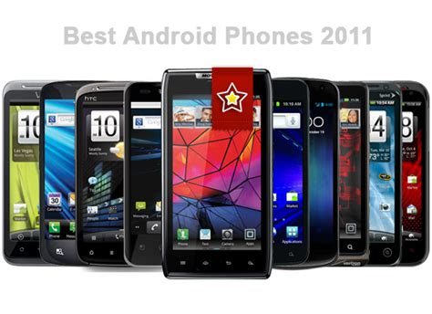 compare android phones best android phones 2011 androidtapp