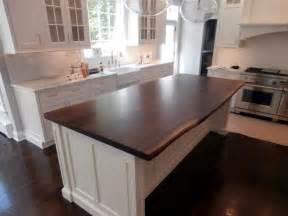kitchen island wood countertop live edge wood countertops custom