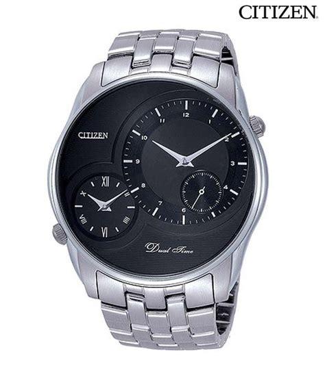 Citizen Mineral Black Dual Time Watch - Buy Citizen ...