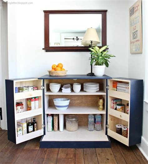 kitchen pantry cabinets freestanding best 25 no pantry ideas on no pantry 5473