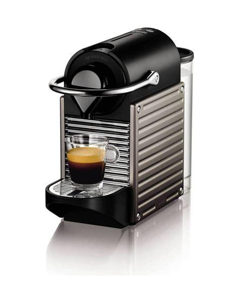 Nespresso essenza plus coffee machine, limousine black. Nespresso XN300540 Pixie Coffee Machine by Krups - Titanium: Amazon.co.uk: Kitchen & Home | Best ...