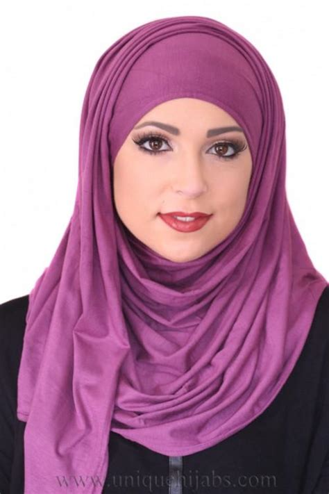 luxury jersey hijab purple unique hijabs