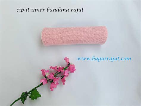 inner bandana rajut 2 in 1 jual ciput bandana inner bandana bandana rajut