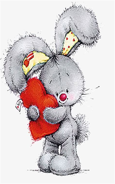 der hase baer zeichnung tatty teddy und niedliche