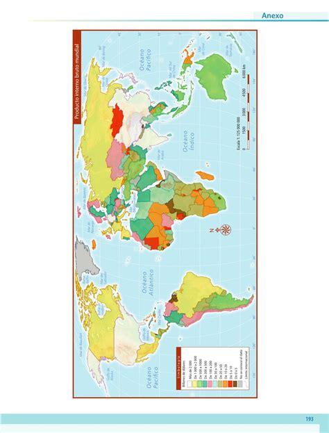 Libros de texto quinto grado. Geografía Sexto grado 2016-2017 - Online - Página 193 de 201 - Libros de Texto Online