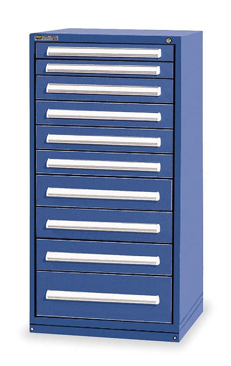 modular kitchen cabinet parts stanley vidmar mod drawer cab 59 quot h 10 drawer blue 7805