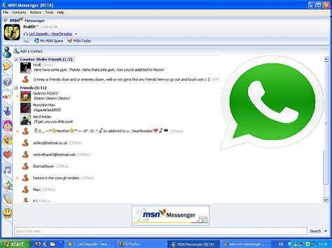 191 messenger style whatsapp para web ahora es compatible