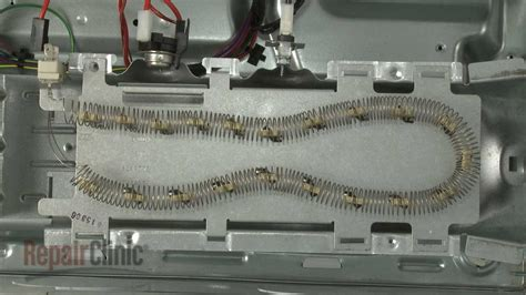 whirlpool electric dryer heating element replacement wp youtube