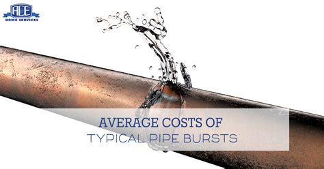 what pipe cannot be used for water how much does it cost to fix a broken water pipe ace home services