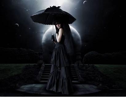 Gothic Dark Moonlight Goth 4k Moon Fantasy