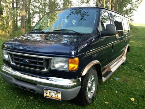 sell   ford  conversion van   dot