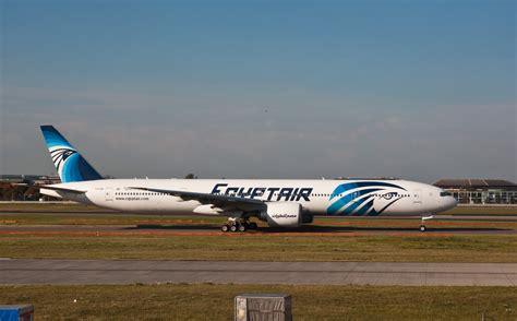 File:EgyptAir Boeing 777-300ER SU-GDM London Heathrow ...