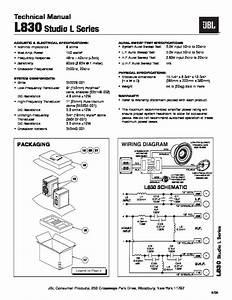 Jbl L830  Serv Man11  Service Manual  U2014 View Online Or Download Repair Manual