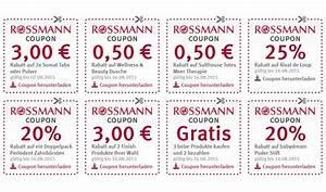 10 gutscheine rossmann zum ausdrucken 2015