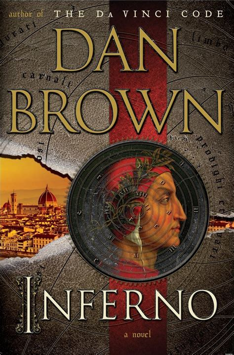 brown dan inferno books dante author novel series there