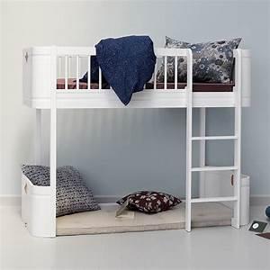 Oliver Furniture Hochbett : oliver furniture halbhohes hochbett wood mini wei online kaufen emil paula kids ~ A.2002-acura-tl-radio.info Haus und Dekorationen