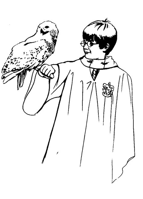 printable harry potter coloring pages  kids