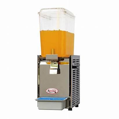 Dispenser Refrigerated Beverage Gallon Bowl Avantco Single