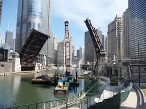 Riverwalk Chicago Construction