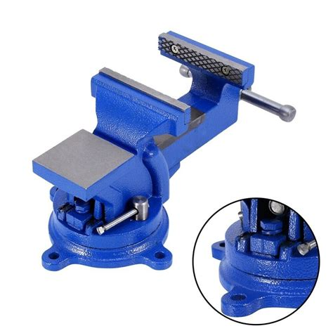 heavy duty engineers vice table vise clamp rotate