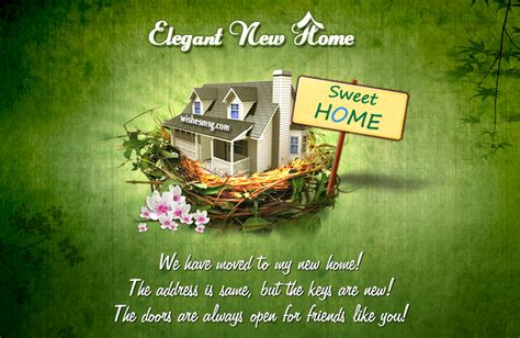 Congratulation Messages For New Home
