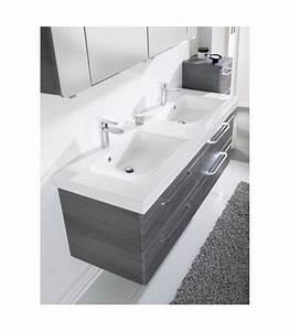 Meuble Salle De Bain Suspendu : meuble suspendu salle de bain balto 148 2 banyo ~ Edinachiropracticcenter.com Idées de Décoration