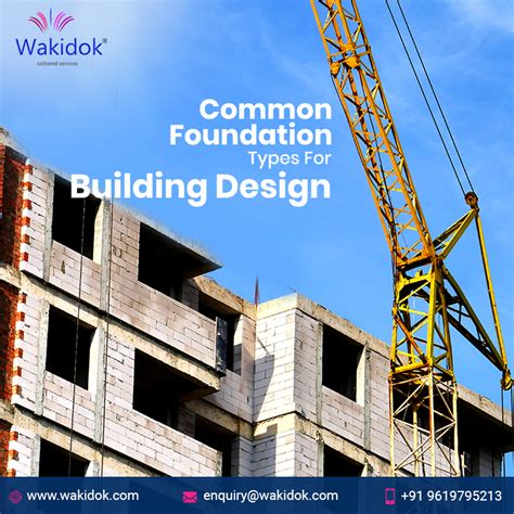 Did You Know These Common Foundation Types For Building Design