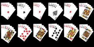 winning combinations  blackjack stock photo image