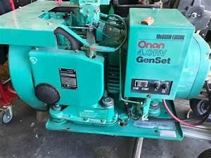 Onan 4 0 Rv Genset - Mcgraw-edison Generator