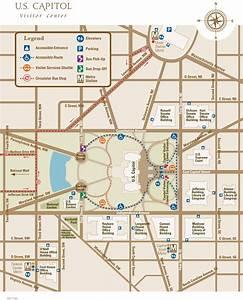 U S  Capitol Map
