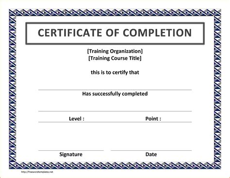 Ms Word Certificate Template Microsoft Word Certificate Templatereference Letters Words