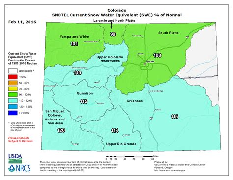 current snowpack and range outlook colorado daily