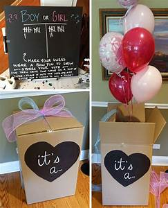 Photo : Blue Box Game Images Gender Reveal Ideas Blue Or Pink What Do You Think 7 Ideas For