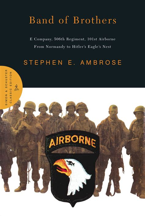 Band Of Brothers  Book By Stephen E Ambrose Official
