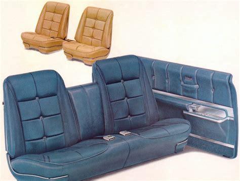Bench Bucket Seats by 1967 Oldsmobile Toronado Interior Trim