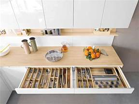 Island Kitchen Design Ideas Contemporary Italian Kitchen Offers Functional Storage Solutions