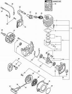 Echo Parts Diagrams