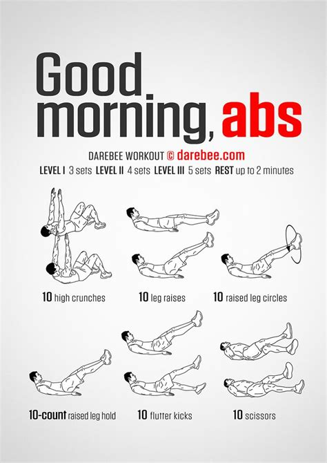 Best Abs Workout Morning Abs Workout Get Fit Morning Ab Workouts