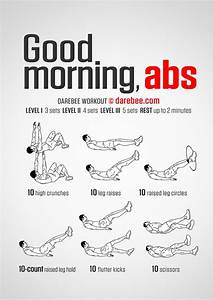 Good Morning Ab... Workout