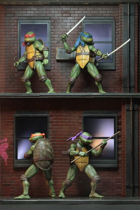 teenage mutant ninja turtles   diorama sdcc  exclusives  neca  toyark news