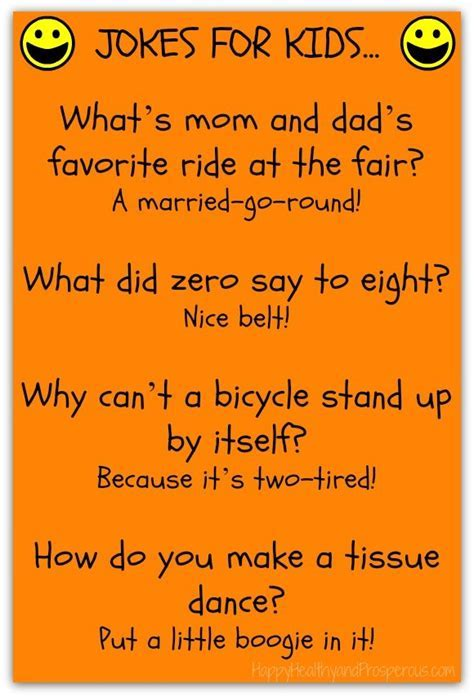 Funny Friday: Jokes for Kids   Happy, Healthy & Prosperous