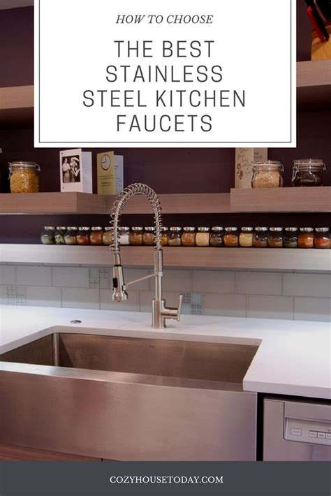 top   stainless steel faucets  kitchen honest