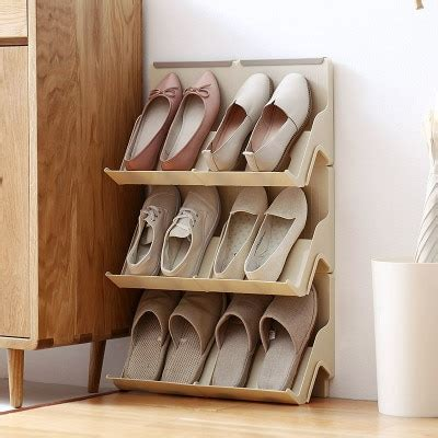moetron creative shoe rack storage diy plastic shoe