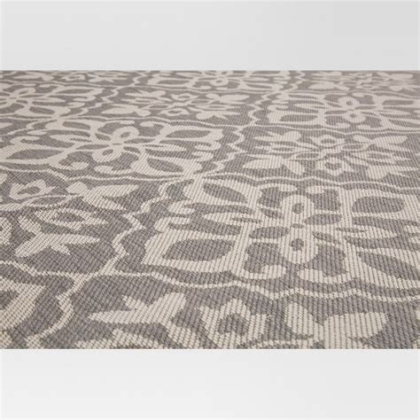 target grey rug 8 x10 outdoor rug mosaic gray threshold target