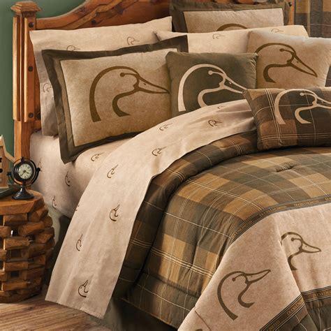 ducks unlimited bedding ducks unlimited plaid sheet sets