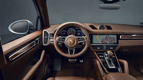 porsche cayenne  coupe  interior  wallpaper hd